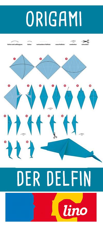 Delfin Origami