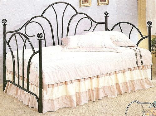 twin black metal daybed frame wrought iron bedroom furniture australia antique bed
