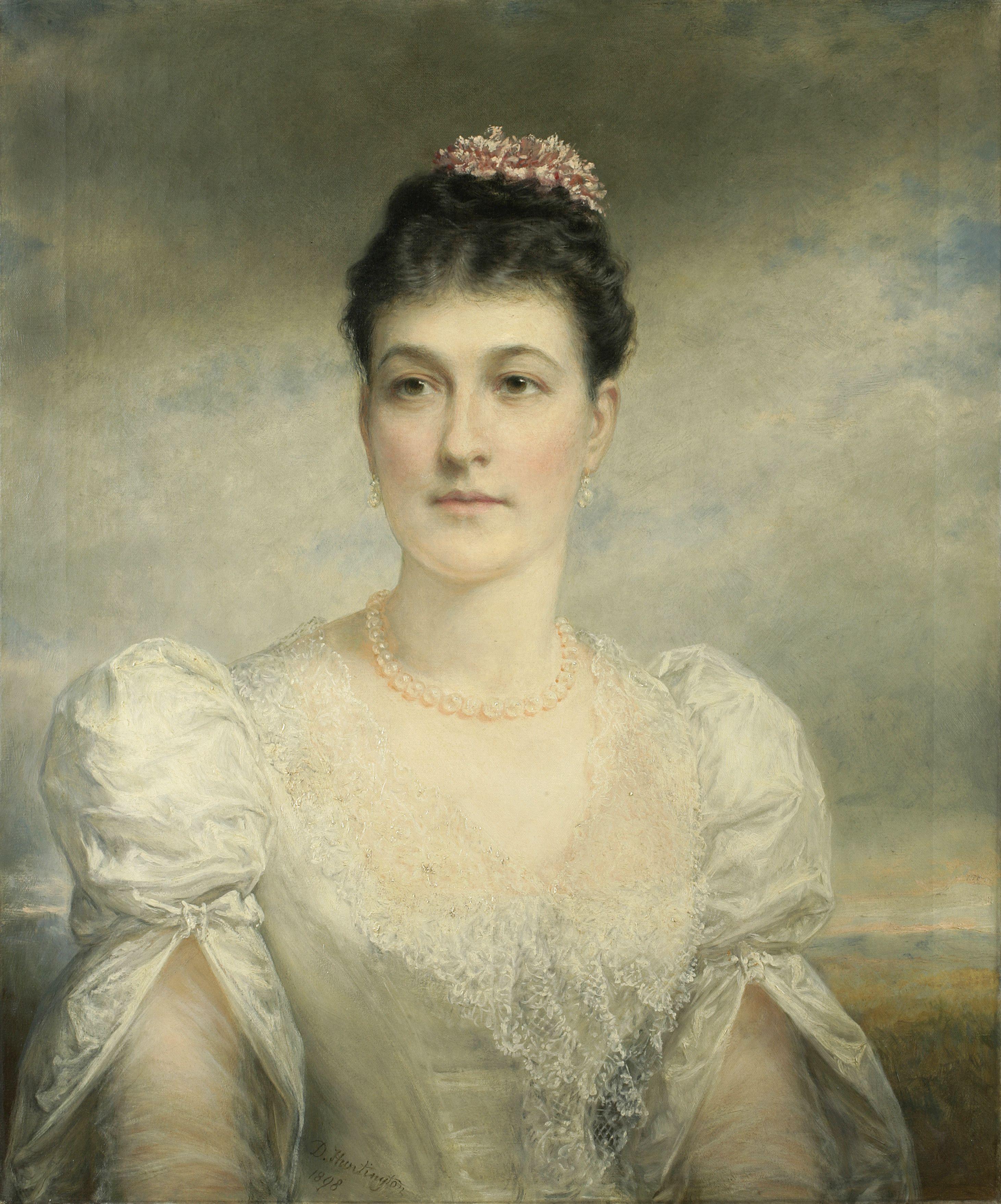 Daniel Huntington (American, 1816 1906), Mary Gardiner