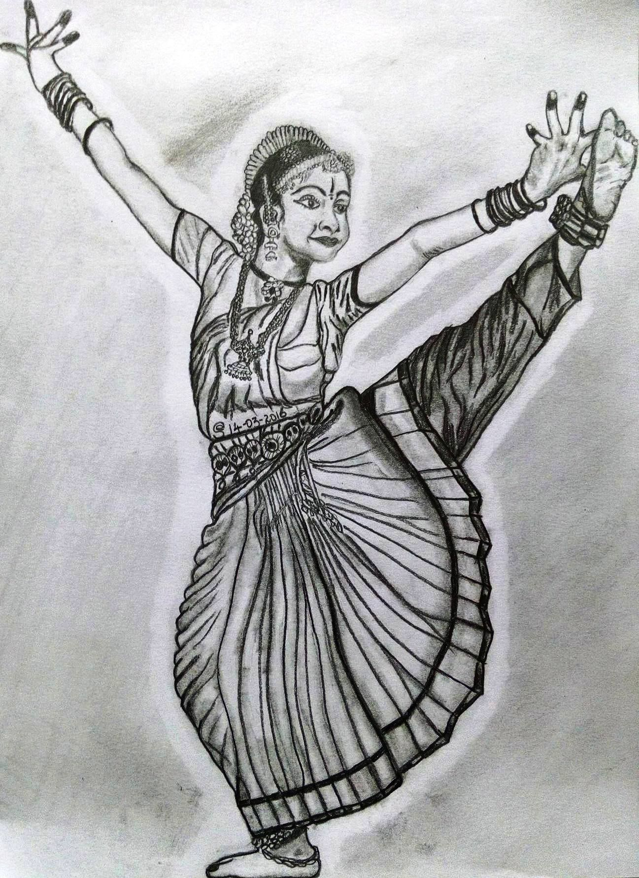 Http Rakshearts Blogspot In 2016 03 Original Drawing For Sale Bharatanatyam Html Drawings Original Drawing Easy Drawings