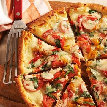 Homemade pizza recipes peppers pizza red peppers and pizzas homemade pizza recipes diabetic living online forumfinder Gallery
