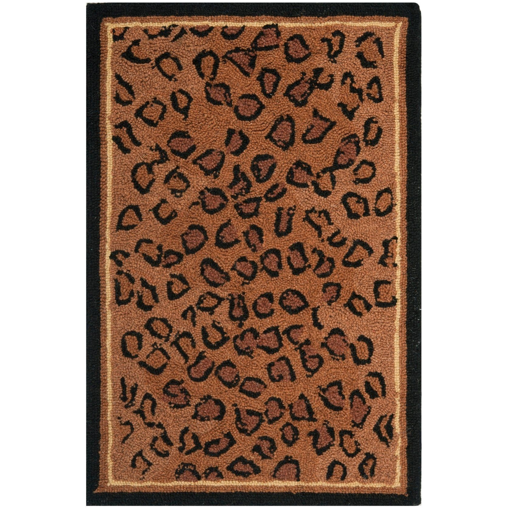 Safavieh Hand Hooked Chelsea Cayla Country Oriental Wool Rug Area Rugs Rugs Round Area Rugs