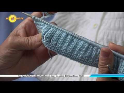 Roba Yapımı Mavi Renk Erkek Çocuk Yeleği Demiryolu Modeli-Tam ...