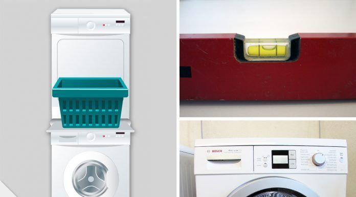 Trockner auf waschmaschine stellen u was zu beachten ist