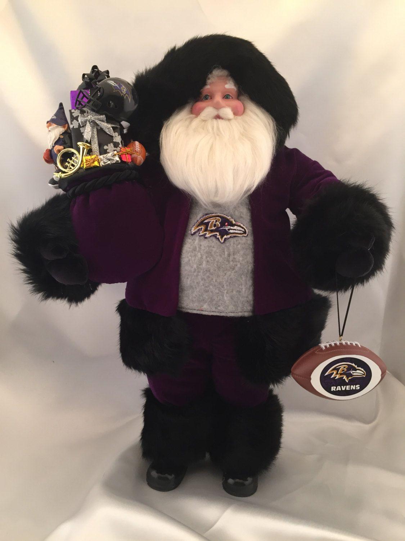 Baltimore Ravens Santa Claus - pinned by pin4etsy.com