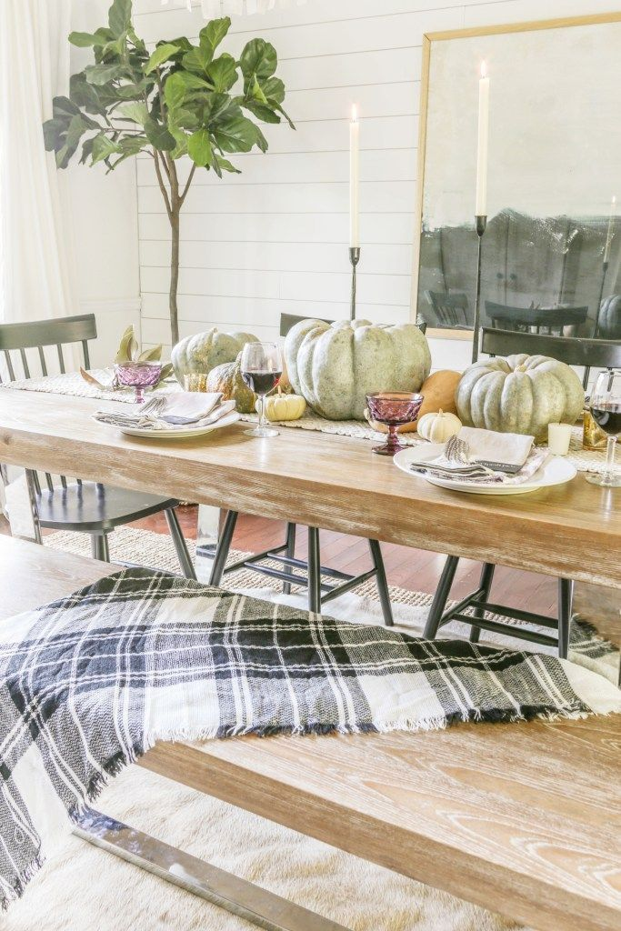 Simple and Affordable Thanksgiving Tablescape with Video ...
