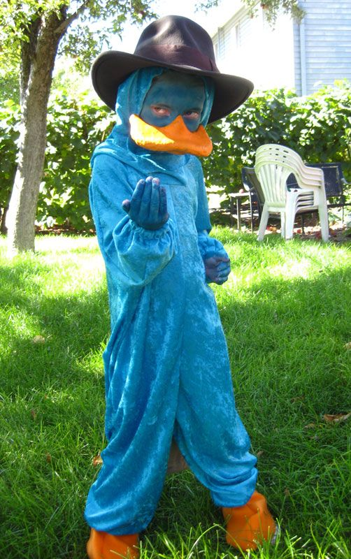 Perry the Platypus Cosplay by Utukki-Girl.deviantart.com on @deviantART