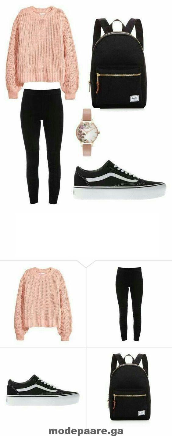Nieuwste Outfits voor tieners in de Winter School Outfits #winteroutfitsforschool