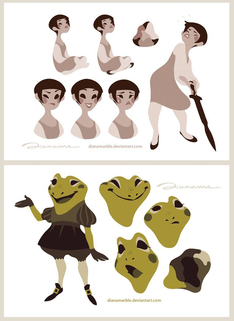 Practising Character Design by DianaMaRble