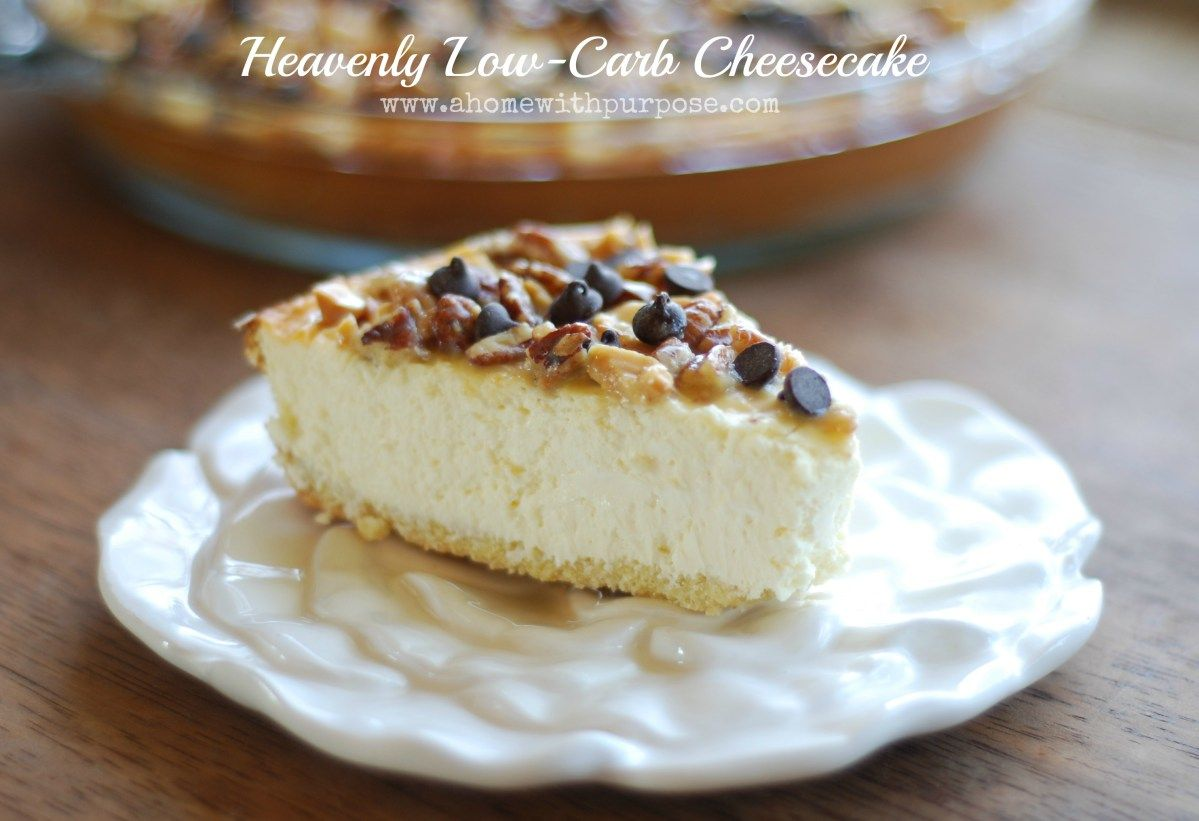 Heavenly LowCarb Cheesecake Best low carb sugar free cheesecake