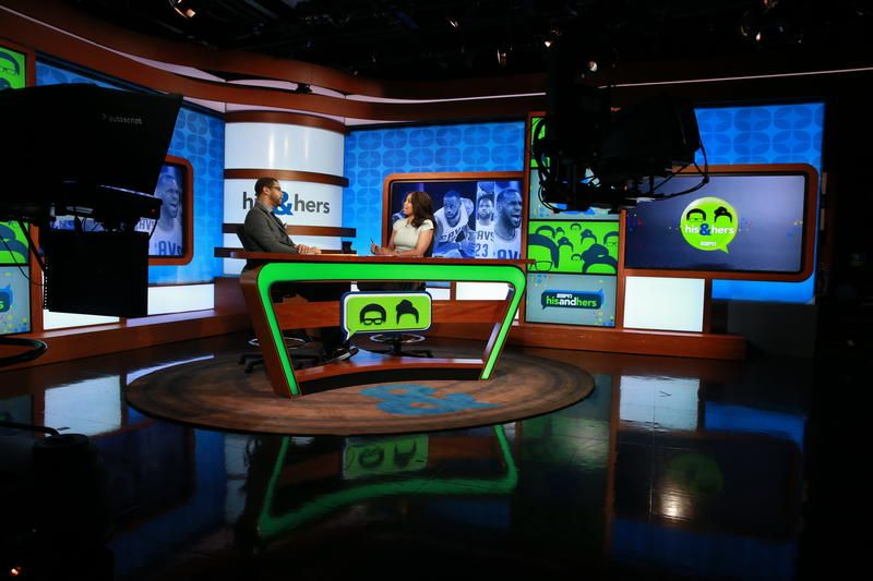 """You can call ESPN2's """"His & Hers"""" a lot of things: Distinctive. Fun. Boundary-pushing. But there's one term the hosts, Michael Smith and Jemele Hill,"""