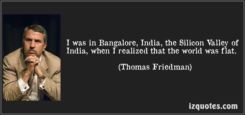 Thomas Friedman Thomas Friedman Famous Quotes S Quote