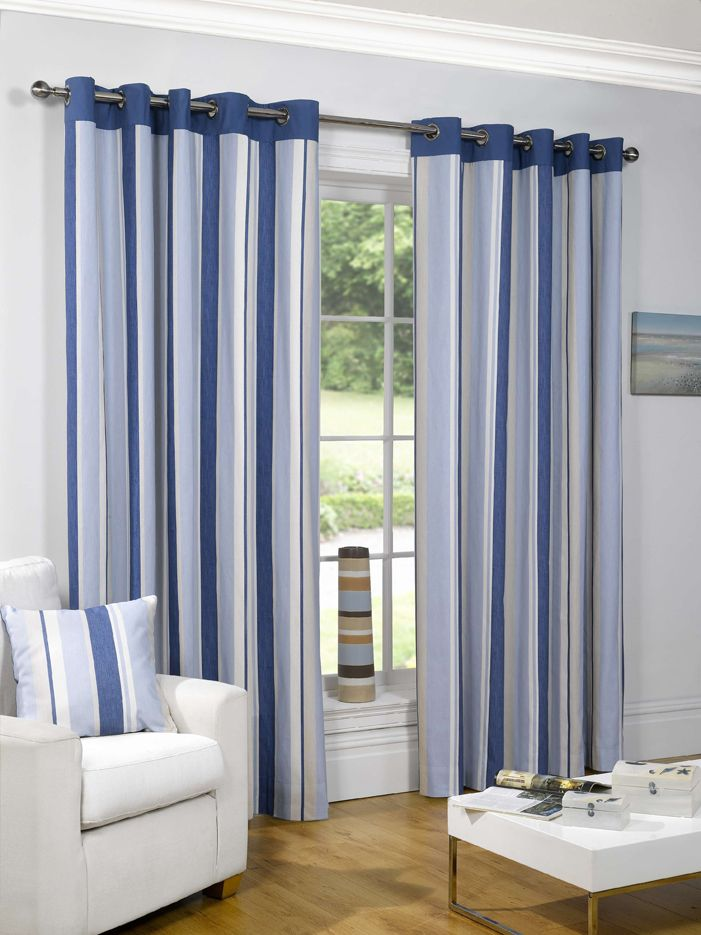 Give your home the best and ready made curtains designs and styles     Give your home the best and ready made curtains designs and styles that  will suit your preference Get our Padstow Blue Eyelet Curtains now