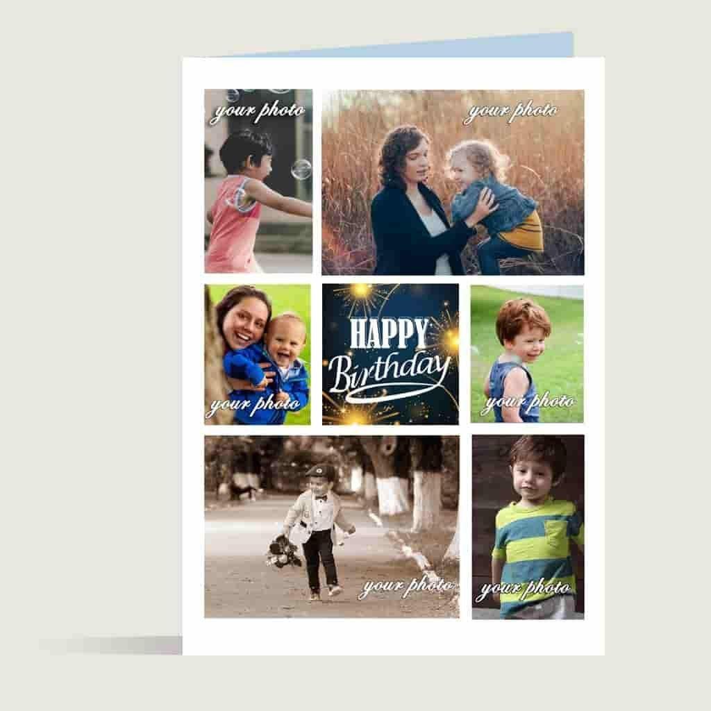 Happy Birthday Collage Greetings Cardbest Birthday Greetings Card Within Birthday Card Collage T Birthday Collage Birthday Greeting Cards Happy Birthday Photos