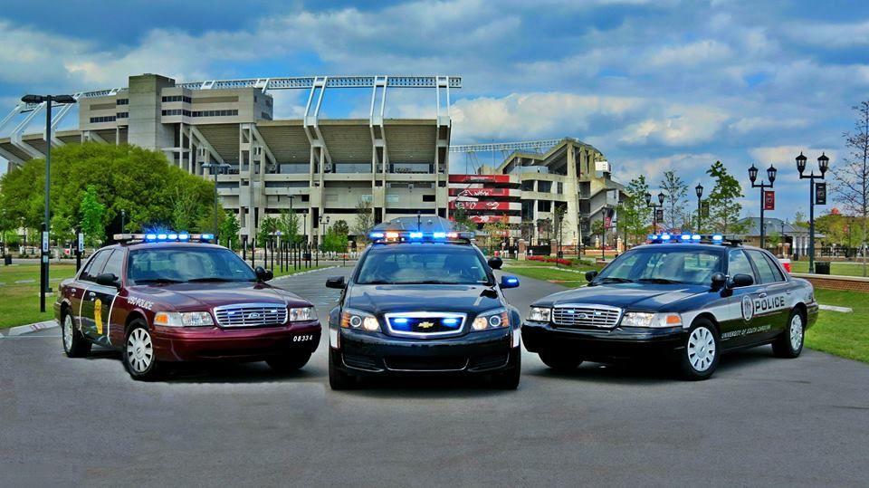 University Of South Carolina Police Department Police Cars Police South Carolina Police
