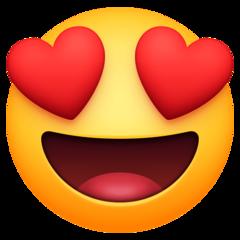 Heart Eyes Emoji En 2020 Emojis De Iphone Emojis Carinositos