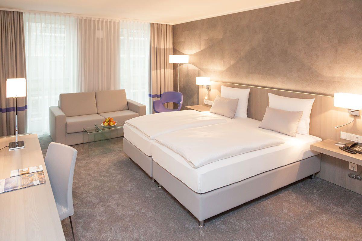 Einfach entspannen, Familienzimmer im relexa hotel