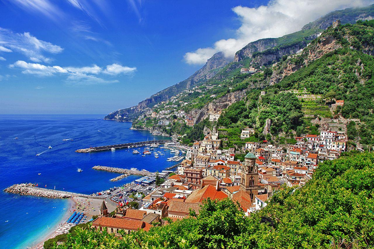 La Cote Amalfitaine Joyau De L Italie Du Sud Italie Du Sud Italie Cote Amalfitaine