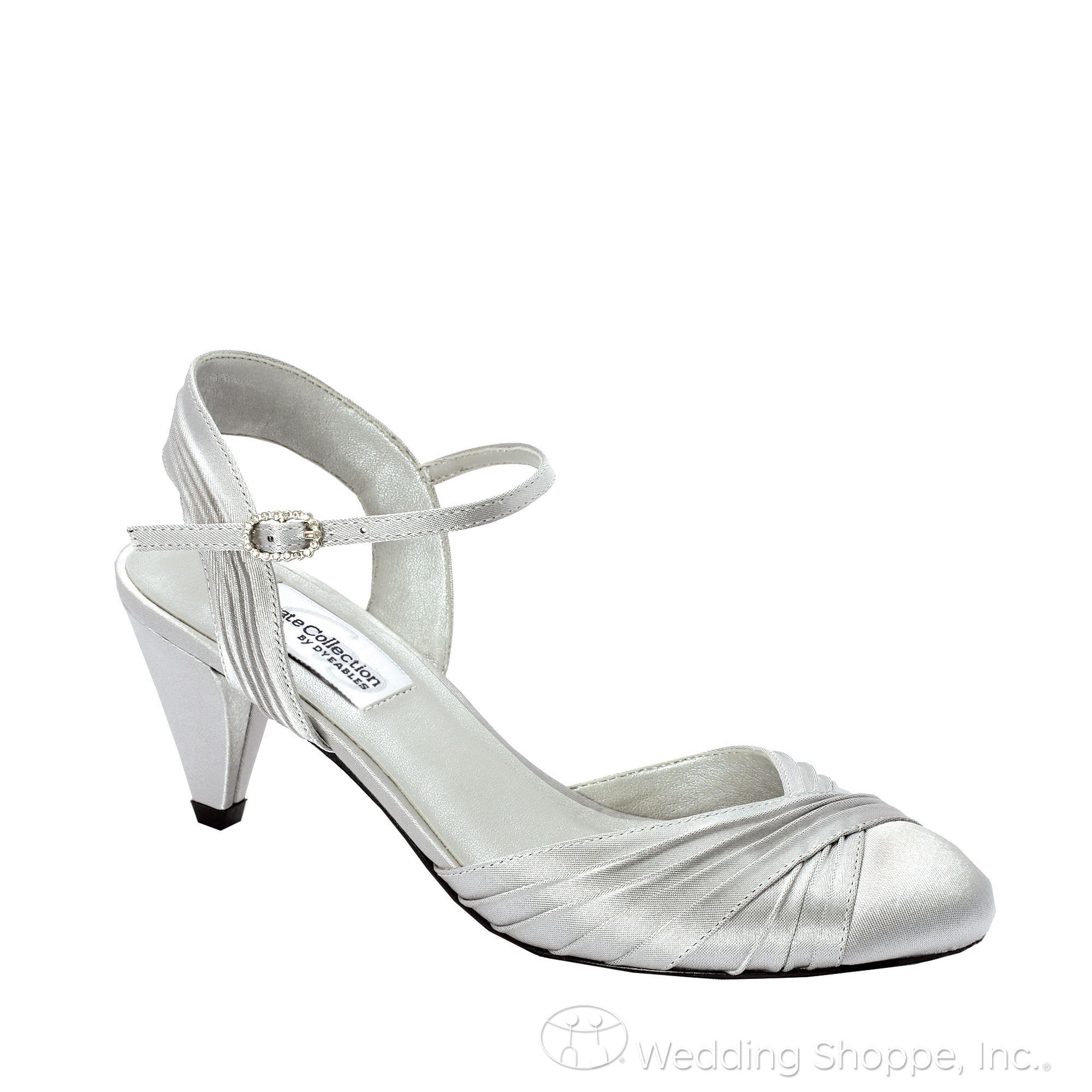 There are lots of wide width dress shoes designed for evening wear from  metallic sandals to sexy pumps.