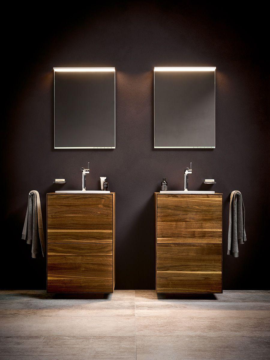 noch nat rlicher und authentischer geht es definitv nicht edition lignatur von keuco steht. Black Bedroom Furniture Sets. Home Design Ideas