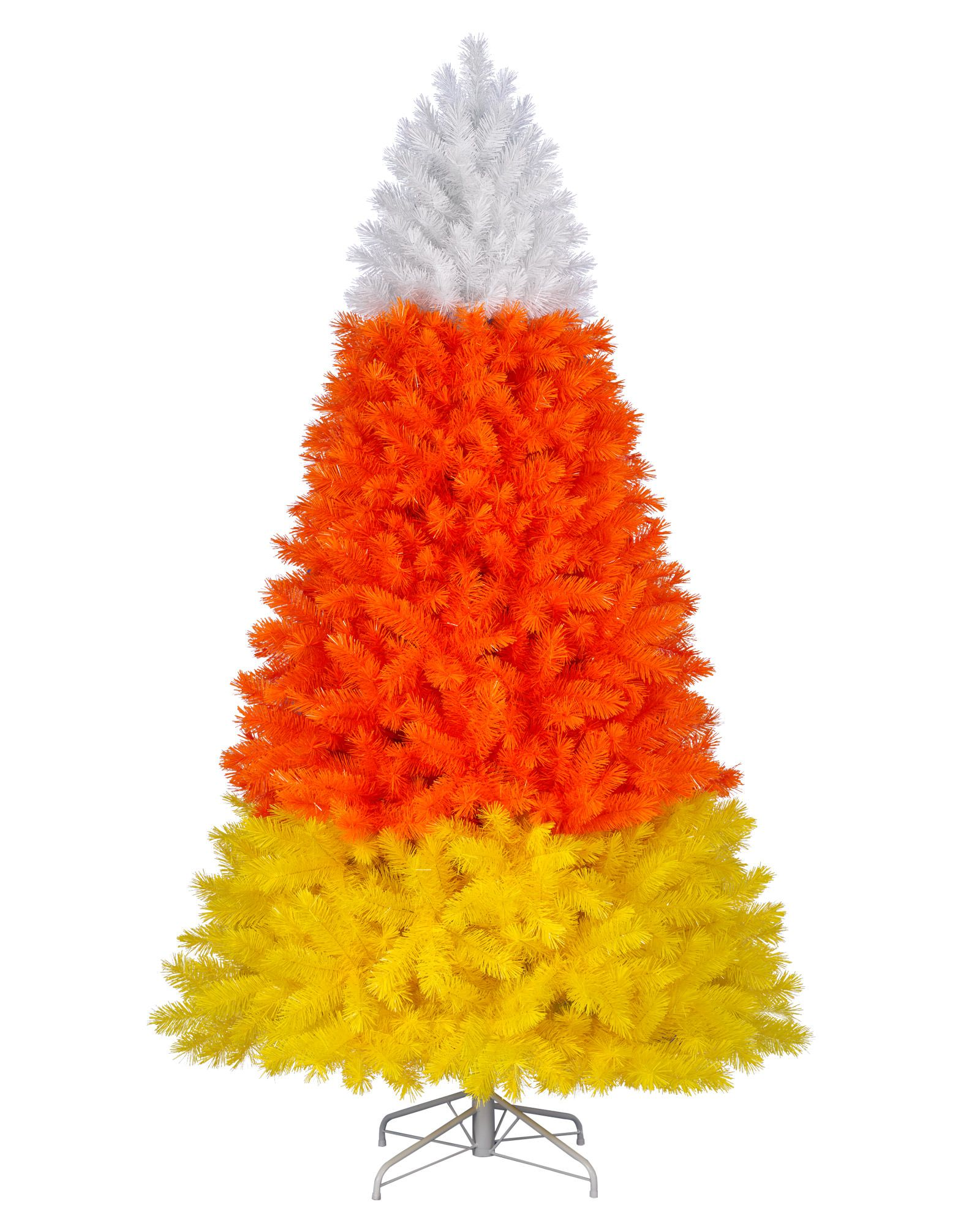 Halloween 2020 Candy Corn Tree Colossal Candy Corn Christmas Tree | Treetopia in 2020 | Candy