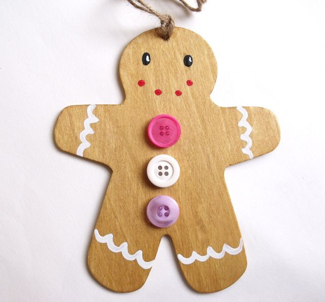 Gingerbread man decoration x mas pinterest gingerbread man decorations gingerbread man - Decorations for gingerbread man ...