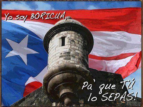 Boricua, pa' que tú lo sepas.  Puerto Rico