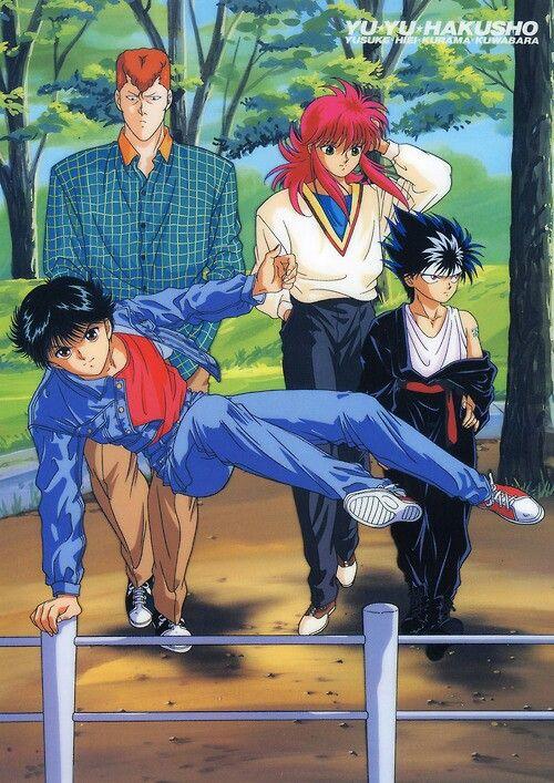 Yu Yu Hakusho Fantastic Four :D
