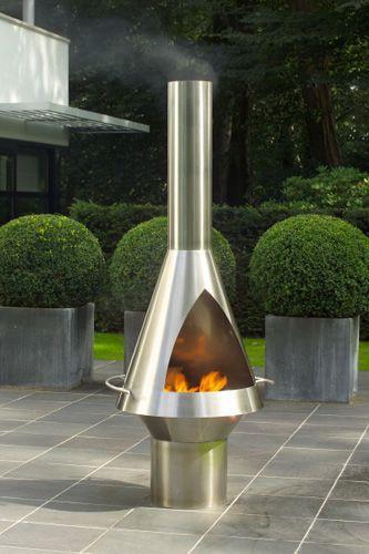 Laga Nova cheminée de jardin mobile pas cher - PriceMinister ...