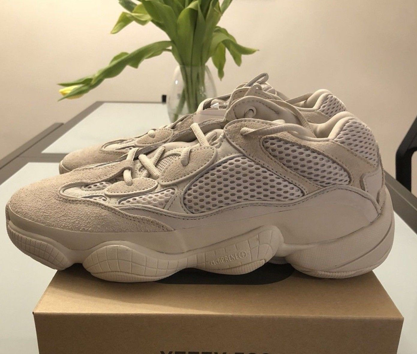 innovative design a7882 e9a64 Adidas YEEZY 500 'Blush' Desert Rat DB2908 10.5 | sports ...