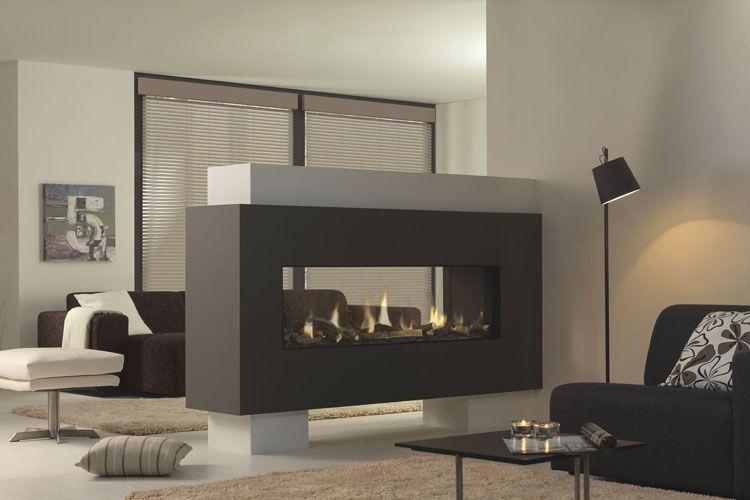 Caminetti Interni Moderni : Immagini di camini moderni da interno living room