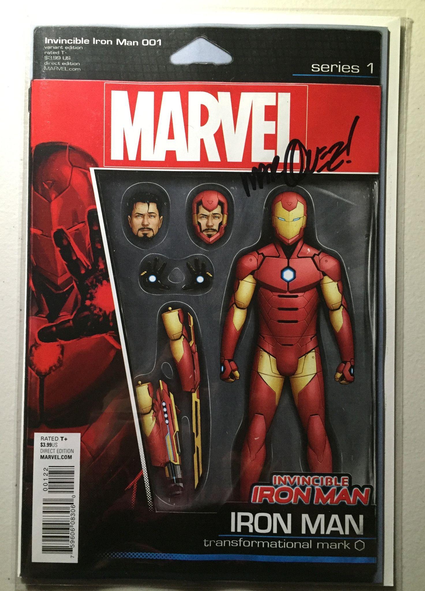 Ii15 Invincible Iron Man 1 Jtc Action Figure Variant Marvel Action Figures Iron Man Iron Man Action Figures