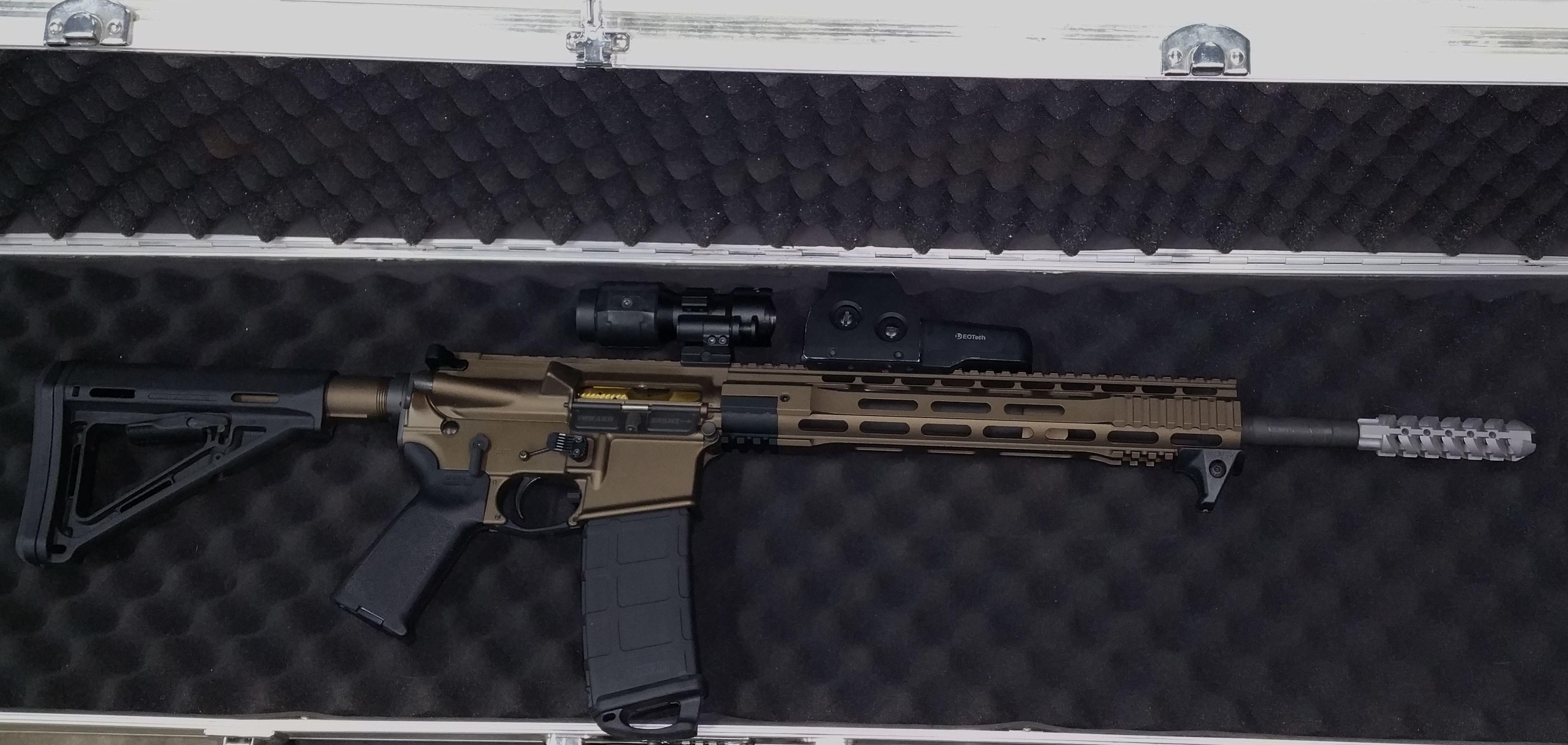NT-23 Titanium AR15/M4 Muzzle Brake | Titanium Gun