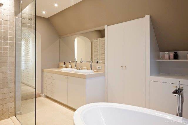 Strak Landelijke Badkamer : Badkamer landelijk strak devos interieurs badkamer