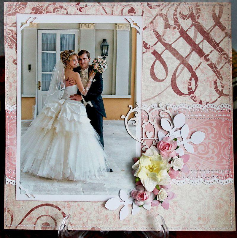 My wedding album Wedding scrapbook pages
