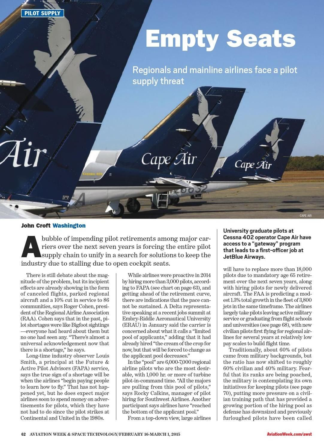 Aviation Week Space Technology N 3 16 February 2015 Clippedonissuu Vintage Airlines Airline Travel Aviation