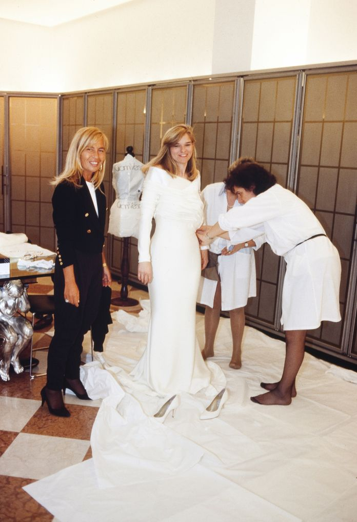 7f4fcdb54a59 Gianni Versace Made Me a Couture Wedding Gown—and I Paid for it with ...