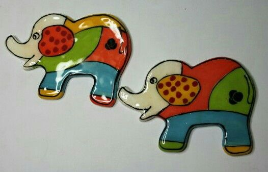 Funky elephant from Scraps