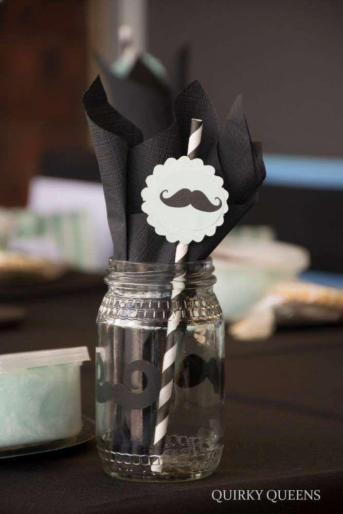 Little man Moustache Birthday Party Ideas Mustache birthday