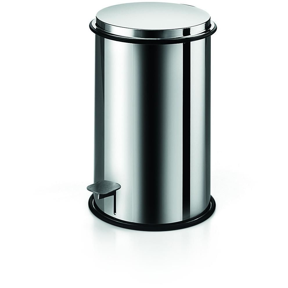 Lb Round Step Trash Can Stainless Steel Wastebasket W Lid