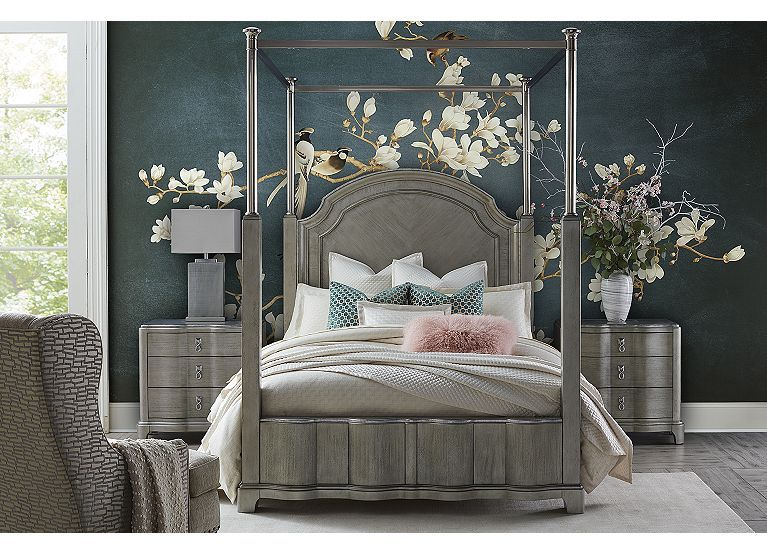 Miramar Canopy Bed Find the Perfect Style! Havertys