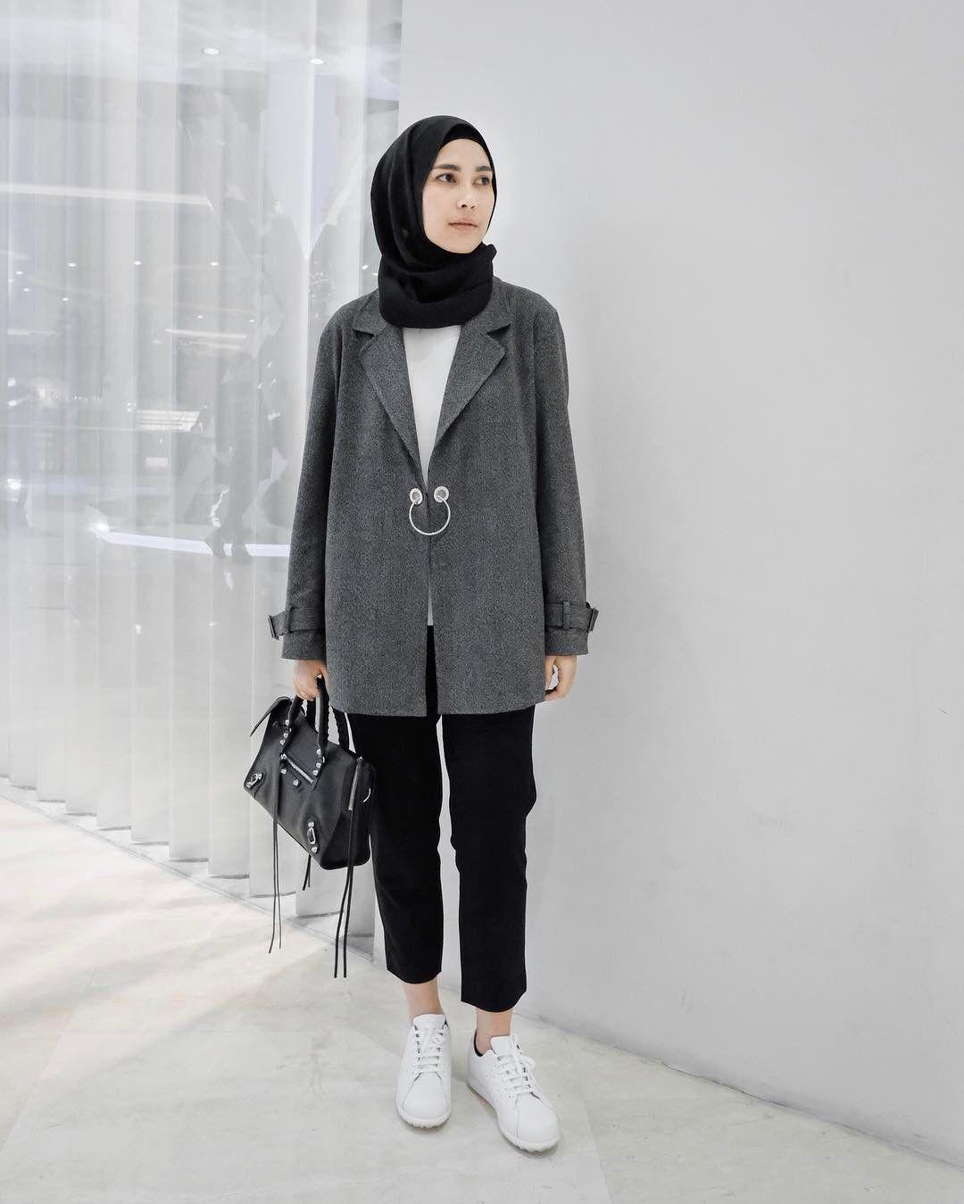 Pin By Terosha Reynanda On Hijabicasual In 2019 Pinterest