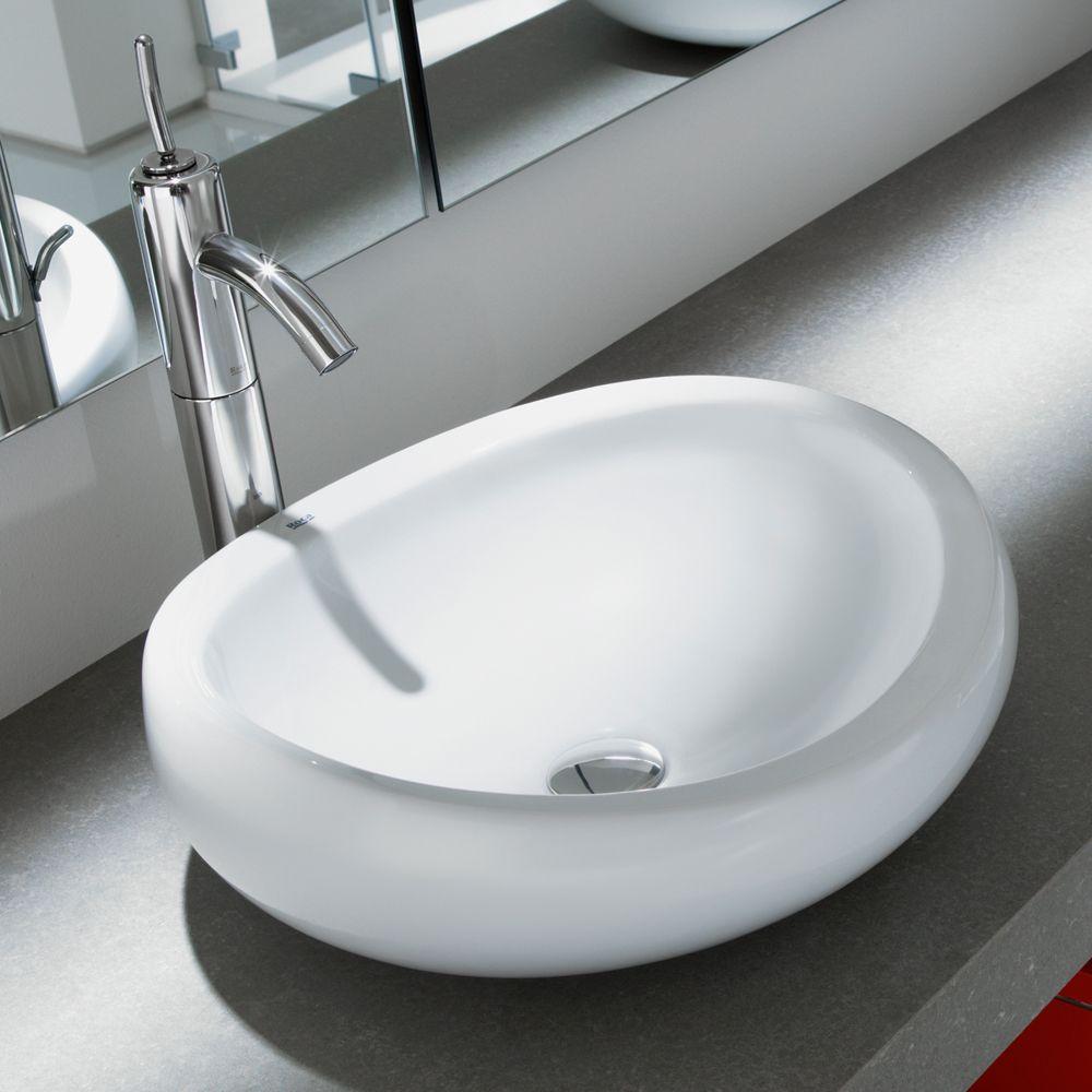 Lavabo Urbi 1 De Roca.Roca Urbi 1 Countertop Basin Allthingshome Bathroom