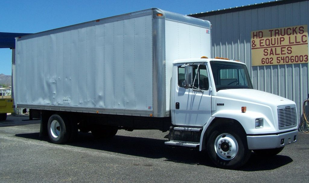 1996 Freightliner Fl70 Box Truck A Hard To Find Low Mileage Non Cdl Box Truck Large Cummins 8 3 Liter Diesel Mo Freightliner Trucks Commercial Vehicle