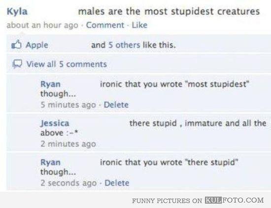 Is stupidest proper grammar