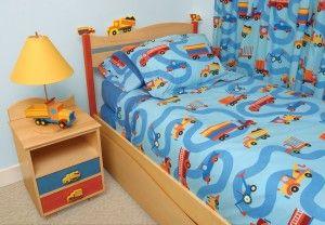 Boys Like Trucks Comforter-Skirt-Sham Twin 129.99
