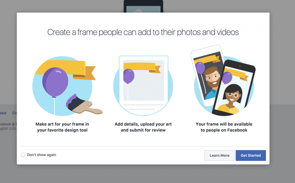 How to Create Facebook Frame | Facebook frame, Profile ...