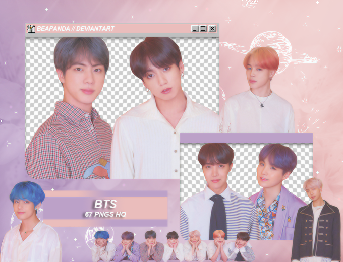 Pack Png 2008 Bts Map Of The Soul Persona By Beapanda Png Bts Deviantart