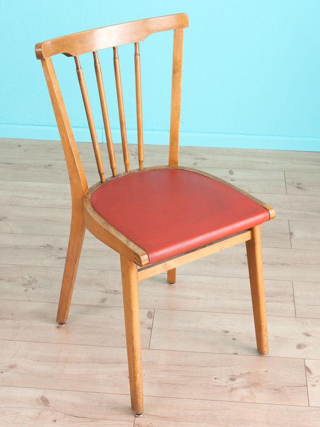 """Vintage Stühle Küchenstuhl """"Used"""" 50er Jahre 60er"""