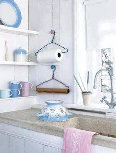 Upcycled Diy Paper Towel Holder Ideas Diy Kitchen Accessories Diy Kitchen Projects Hanger Diy